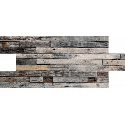 Sıra Tahta Desenli Strafor Duvar Paneli | WALL - 720