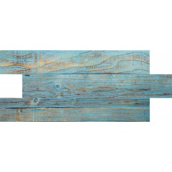 Mavi Tahta Desenli Strafor Duvar Paneli | WALL - 727